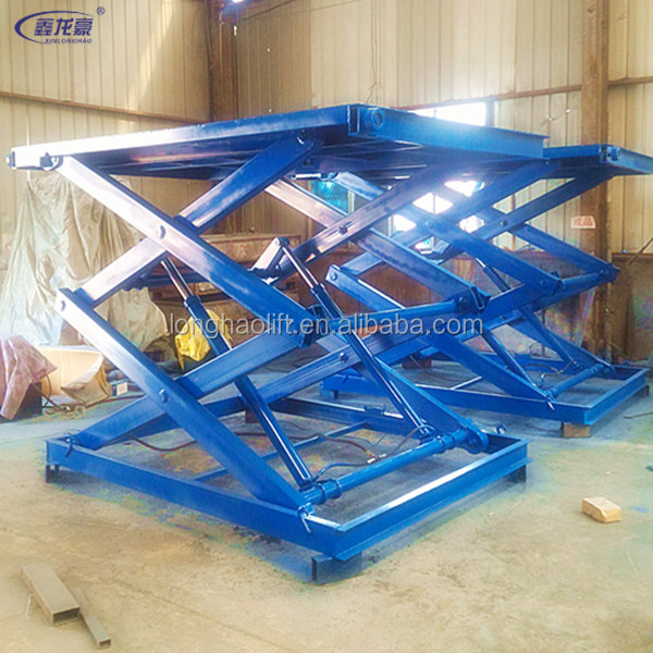 hydraulic scissors cargo lift table