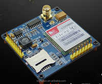 SIM900A GSM/GPRS module with STM32 development board, 51 procedures USB powered DTMF TTS