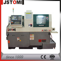 High Precision Swiss Type CNC Automatic Lathe With Customized System Controller