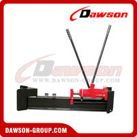 China high quality Pedal Log Splitter with portable tilted wheels
