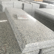 Hot selling china polished surface granite g602 stairs with half bullnose