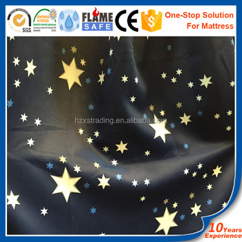 Polyester Cartoon Blackout Fabric Curtains