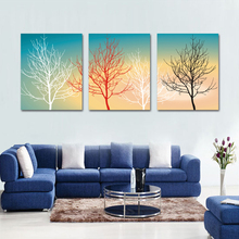 Wall hanging abstract village beautiful landscape paintings