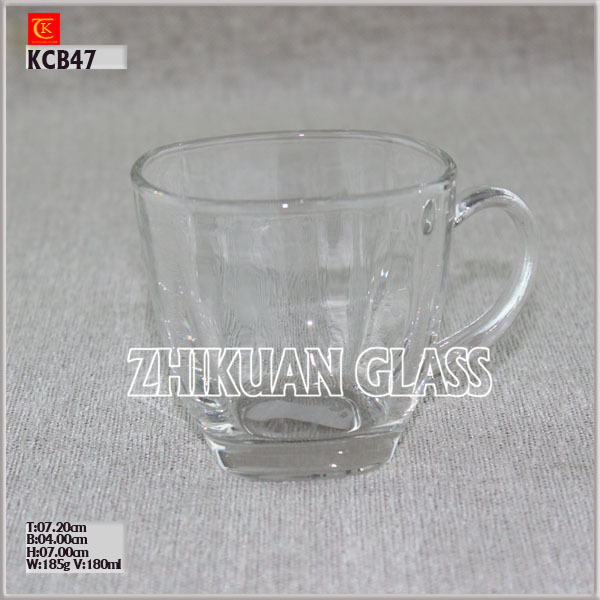 Hot Sales nescafe glass cup supplier on promotion Glass Mug