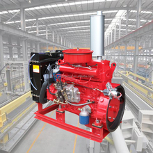 DIESEL ENGINE MODEL 4102 FOR FIRE FIGHTING PUMP
