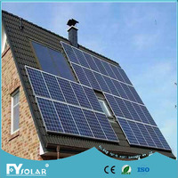 2KW off grid solar home system,stand alone solar panel kits
