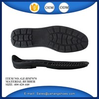 new model water resistance men custom rubber shoe sole