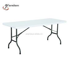 Foldable Rectangle Plastic Dining Table