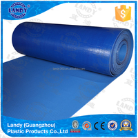 Custom size waterproof hard plastic swimming pool cover