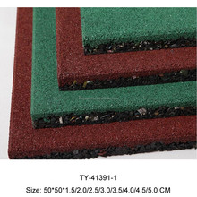 2015 Rubber Mat,Outdoor Rubber Flooring,Outdoor Playground Safety Flooring Tiles