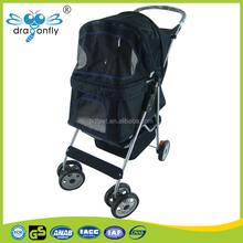 new design aluminum pet trolley,Portable collapsible pet stroller/ cart
