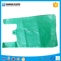 HDPE/ldpe printing plastic carrier/t-shirt/vest/shopping bag with handle