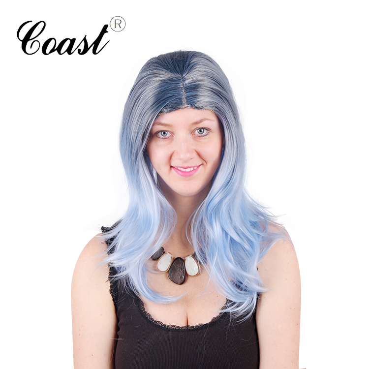 female fashion new synthetic lace front wig