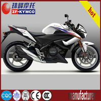 Super strong powerful adult 250cc racing motorcycle design ZF250