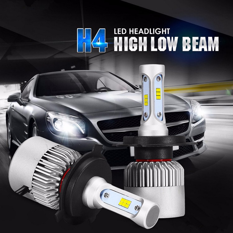 80W 8000lm 6000K Super Bright Car Led Headlight S2 H1 H3 H4 H7 H11 9005 9006  COB Led Light