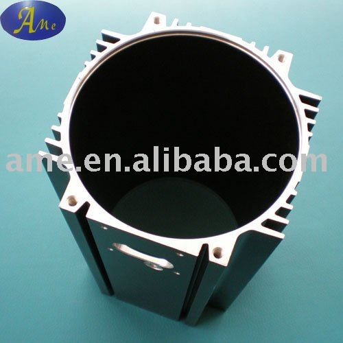 Aluminum profile aluminium led light heat sink motor housing