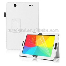 Mix Colors For LG G Pad 10.1 Book Stand litchi Leather Tablet Case Cover