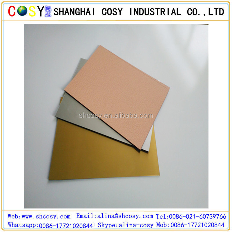 Hot sale metal color Abs Double Color Plastic Sheet
