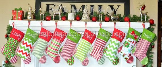 List Manufacturers of Monogram Christmas Stockings, Buy Monogram ...