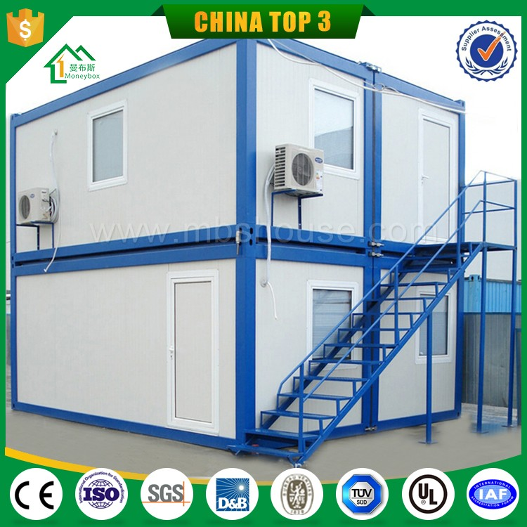 Flat pack prefab portable container House, 20ft modern design office or booth use