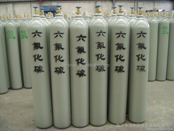 True quality of SF6 Sulfur hexafluoride 40L industrial gas