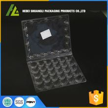 wholesale packaging tray type and egg use plastic quail egg tray