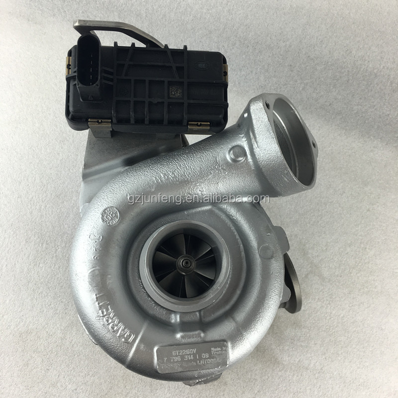 Turbocharger for BMW X5 3.0 d E70 twin turbo V8 3.0L M57TU2 Engine PARTS GTB2260VK Turbo 11657796313G07 765985-0001 765985-0006