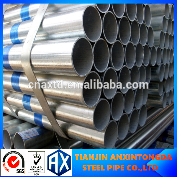 oil and gas steel pipe and pipeline hot dipped galvanized steel pipe for structure pipe galvanized steel