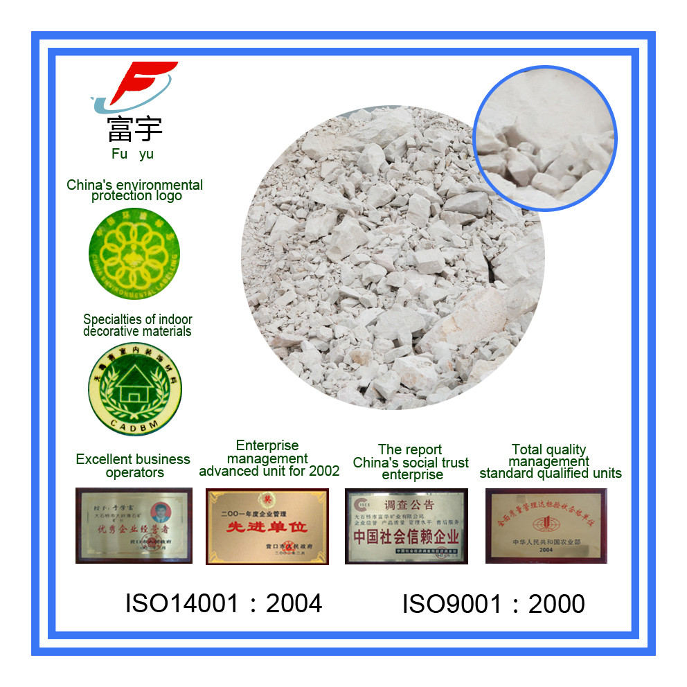 Improve vitrification, prevent rupture and reduce baking cycle for the manufacture of electric porcelain talc lump