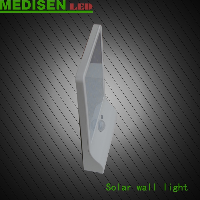 MEDISEN ms-solar walllihgt-3.52015 Best price portable sloar LED wall light with montion sensor led wall lamp