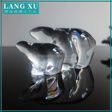 Best selling products clear small glass ornaments animals