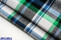 HOT: yarn dyed checked cotton flannel colth
