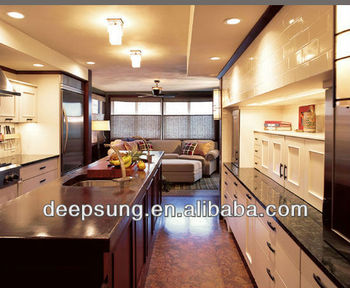 Big kitchen cabinet with Island , granit or quartz counter top