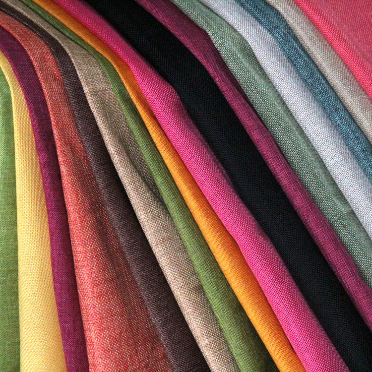Colorfull organic linen fabric wide width linen fabric bed linen fabric