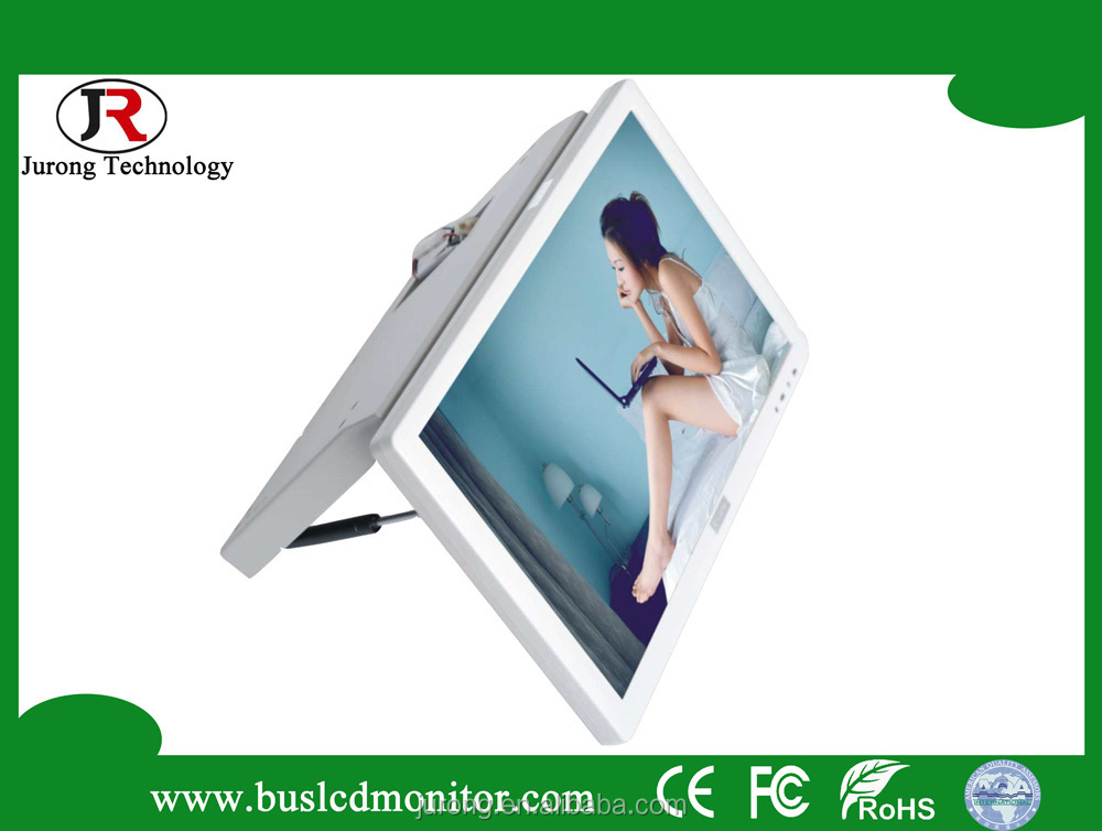 "High definition TFT 19"" top fixed bus car led tv"