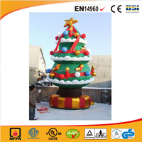 2016 hot sale inflatable Christmas tree/festival inflatables