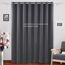 Fashion Basic Wild Width Thermal Insulated Blackout Curtains - Antique Bronze Grommet Top