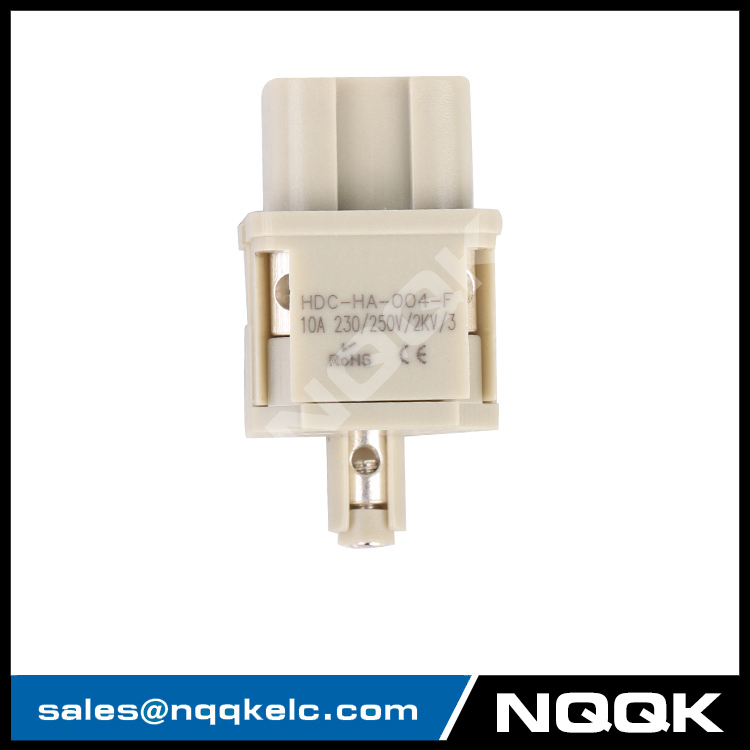 6 HA-004-F 4 pin Flame retardant male and female insert contacts.JPG