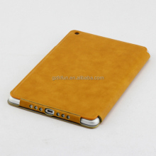 Smart cover OEM/ODM design pu leather case for ipad mini