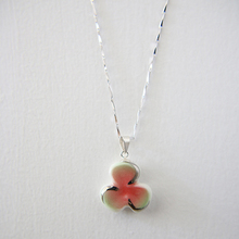 ceramic pendant clover shape necklace/necklace for men