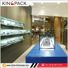 Wood material watch display rack for watch store display furniture