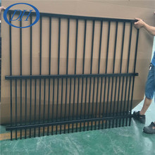 ISO Factory price for wholesale outdoor decorative metal dog fence