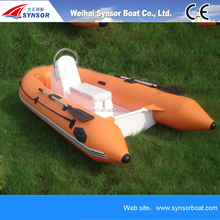 2017 RIB Inflatable speed fishing sport boat fiberglass boat hulls for sale