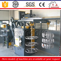 china factory supplier double hook hanging type shot blasting machine price for sale