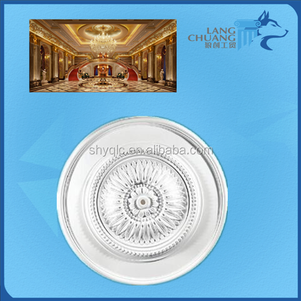 Customed-made Decorative GRG/ Gypsum Ceiling Medallions for Hotel Decor