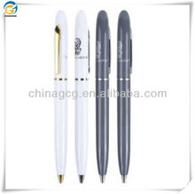 Black And Grey Matal Ball Pen With Clip
