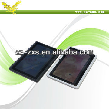 "ZXS-Q88 Shenzhen Smart Pad 7Inch Tablet PC MID Android 4.0 Tablet 7"" MID, 7"" Tablet PC 4GB, 512 RAM,Black Netbook"