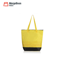 Portable lady fashion lunch tote handle reusable cooler shopping bag