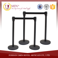 Metal Crowd Control Queue Line Post Stand Stanchion