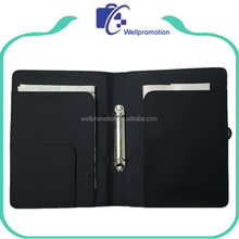 office black microfiber a3 size 2 ring binder portfolio